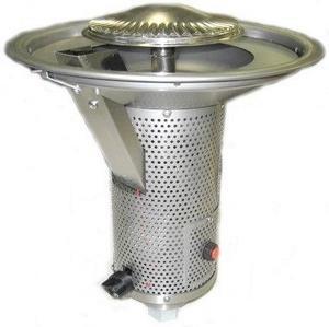 Sunglo-10278 5-Non-E Series - Head Assembly Natural Gas  Silver Finish