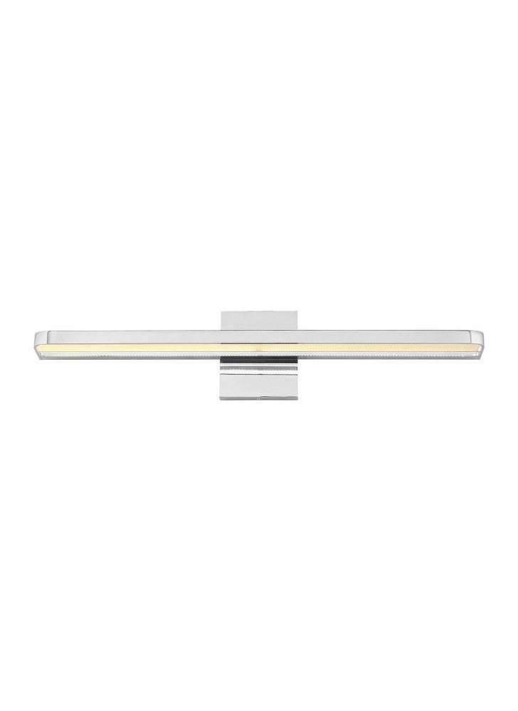 "Tech Lighting-700BCBND24C-LED930-Banda - LED Bath Vanity Chrome Finish Integrated LED 90 CRI 3000K 120-277V UNV24"" Length"