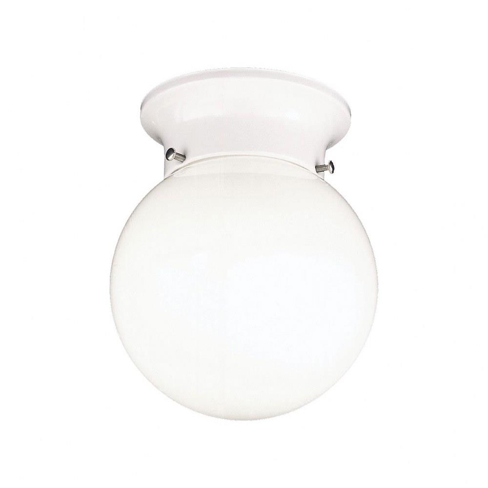 Essentials One Light Flush Mount