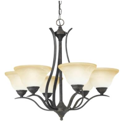 Thomas lighting sl863622 prestige six light chandelier mozeypictures Gallery