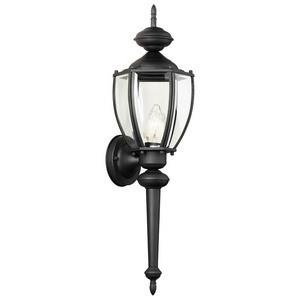 Thomas Lighting-SL94767-Park Avenue - One Light Outdoor Wall Lantern  Black Finish