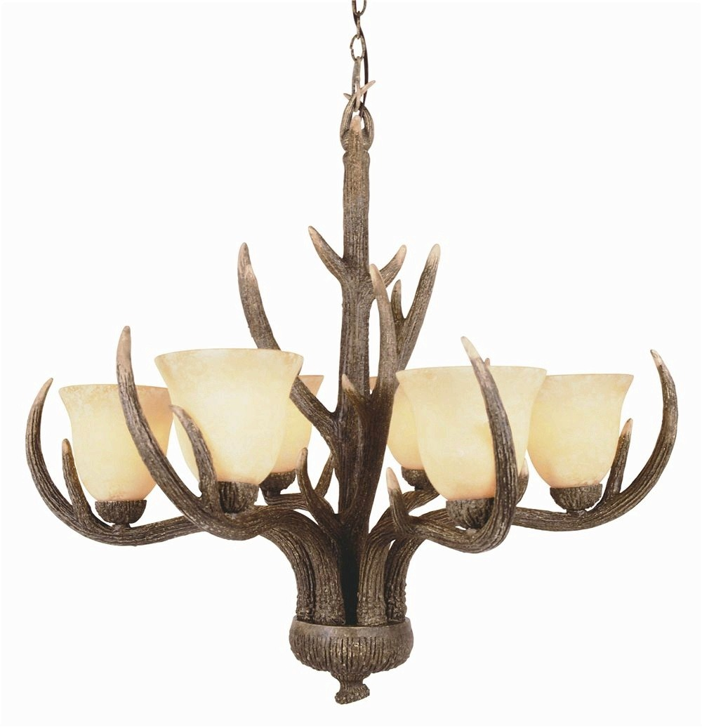 Trans Globe Lighting - 7086 - Country Style - Six Light Chandelier