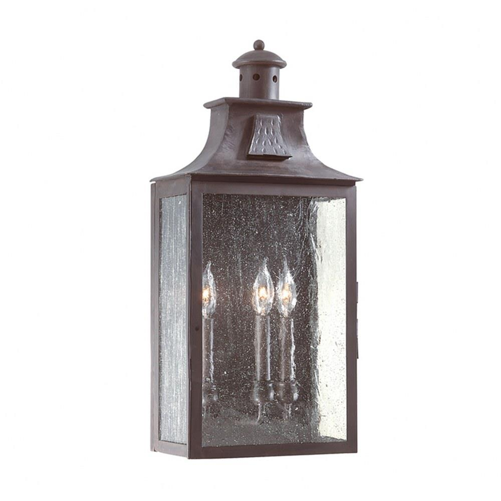Newton - Three Light Outdoor Large Pocket Wall Sconce