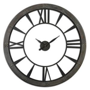 "Ronan - 60"" Large Round Wall Clock"