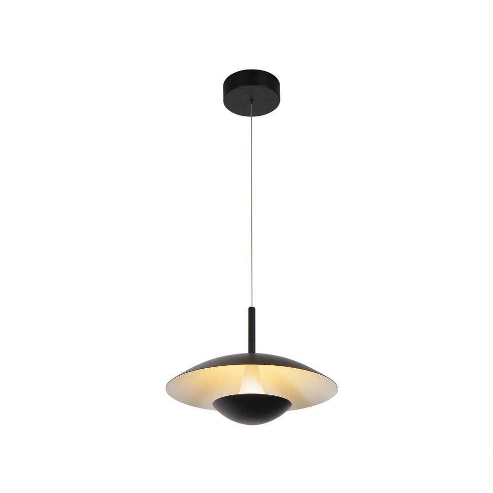 VONN LIGHTING-VAP2261BL-Rimini - 10 inch 7W LED Pendant  Black Finish