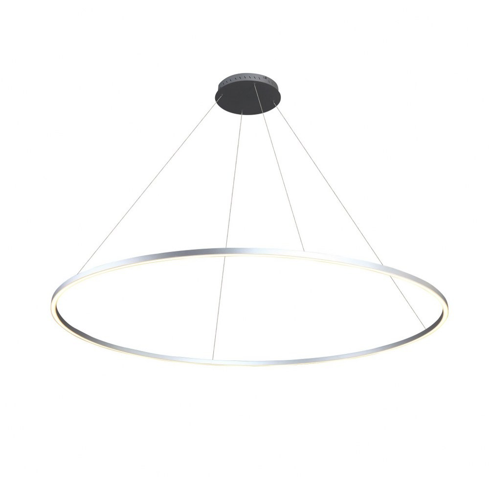 VONN LIGHTING-VMC34960AL-Tania - 60 inch 51W LED Circular Chandelier  Silver Finish