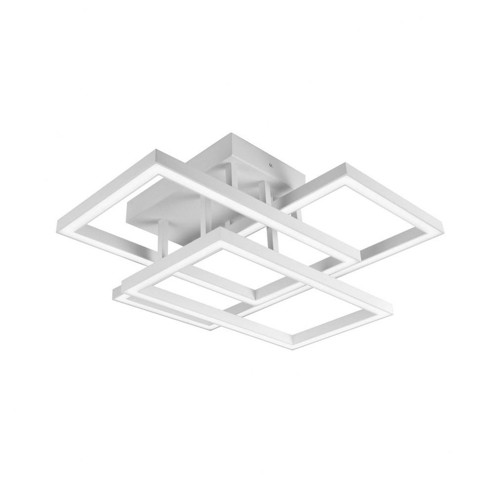 VONN LIGHTING-VRCF49103WH-Radium - 28 inch 78W LED Rectangular Ceiling Fixture  White Finish