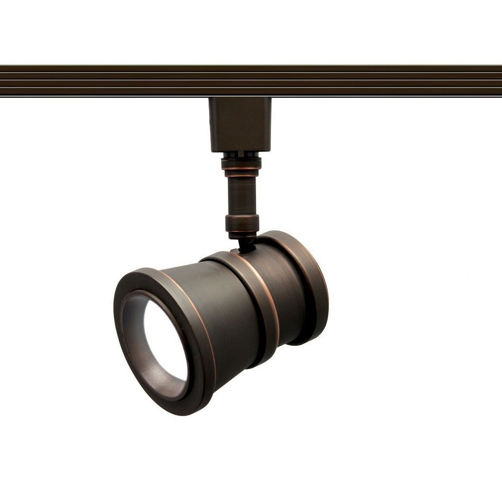 Wac Lighting Hled20830ab Summit 7 15w 1 Led Beamshift Line Voltage Traditional Htrack Head image