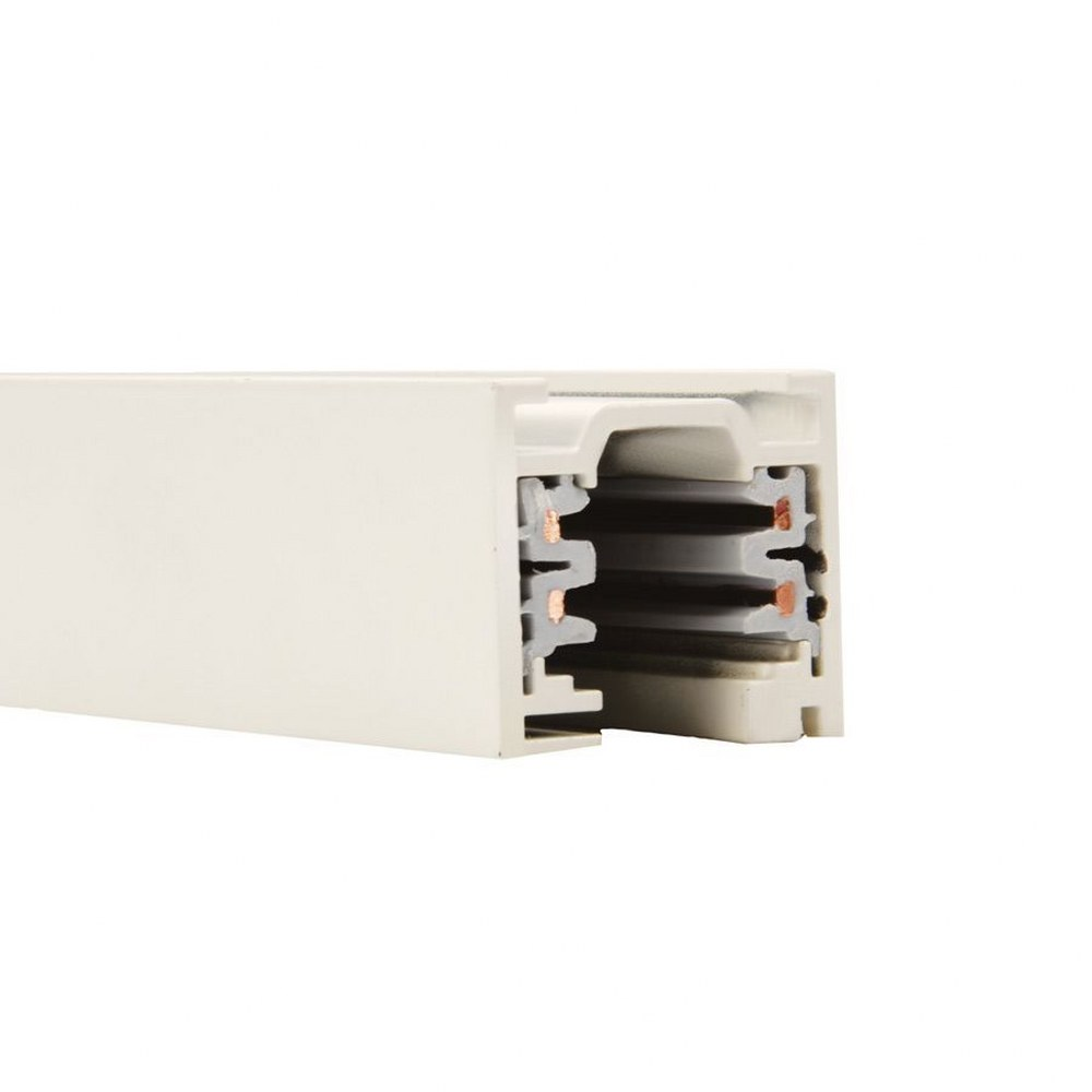 WAC Lighting-WT4-WT-Accessory - 48 Inch 120V 2-Circuit Track  White Finish