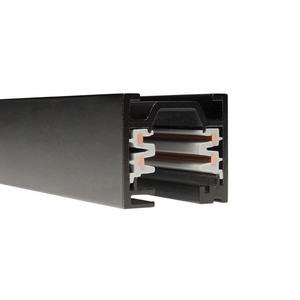 WAC Lighting-WT4-BK-Accessory - 48 Inch 120V 2-Circuit Track  Black Finish
