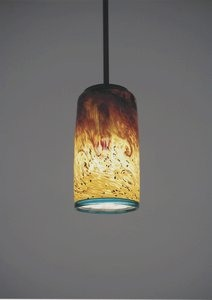 WPT Design-WC-BZ-Pend-Tall-33-Tall Whitney - One Light - 33 Inch Cylinder Pendant  Bronze Finish