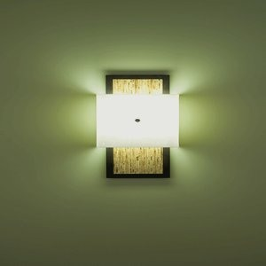 WPT Design-WIN-BZ-MD-MD-Windows - Two Light Wall Sconce  Meadow/MeadowBronze Finish