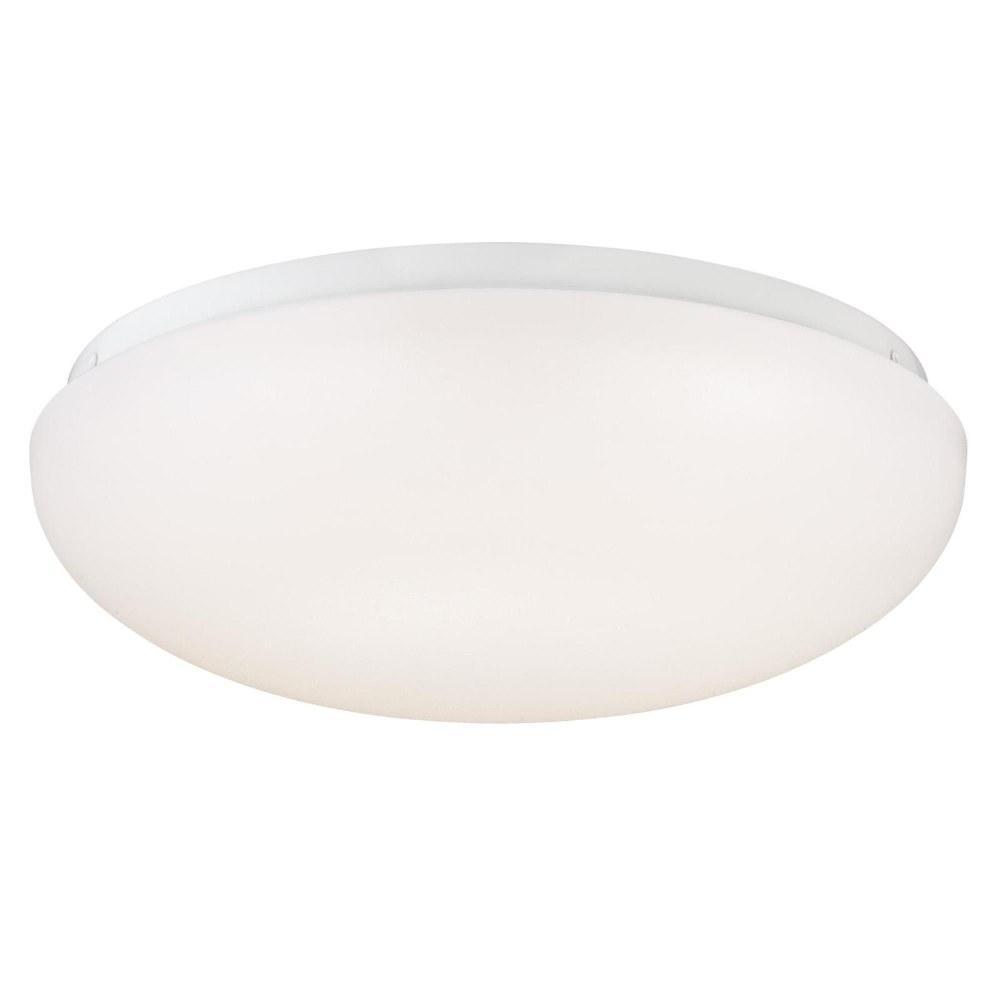 Westinghouse Lighting-6401100-11 Inch 15W 1 LED Flush Mount  White Finish with White Acrylic Glass
