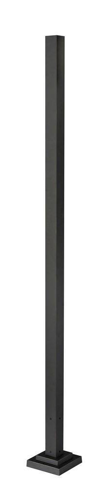 Z-Lite-536P-ORB-Accessory - 96 Inch Outdoor Post  Oil Rubbed Bronze Finish