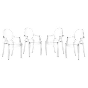 """Anime - 36.5"""" Dining Chair 4 Pack"""