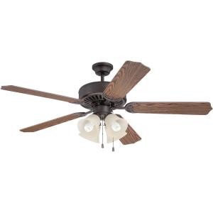Craftmade ceiling fans pro builder 204 52quot ceiling fan with aloadofball Gallery