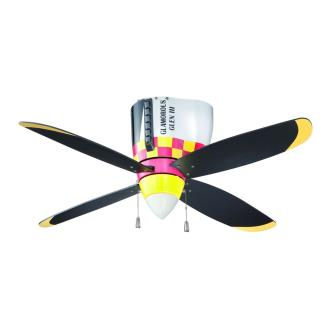 "Craftmade Lighting WB448GG Warbird - 48"" Air Power Fan"