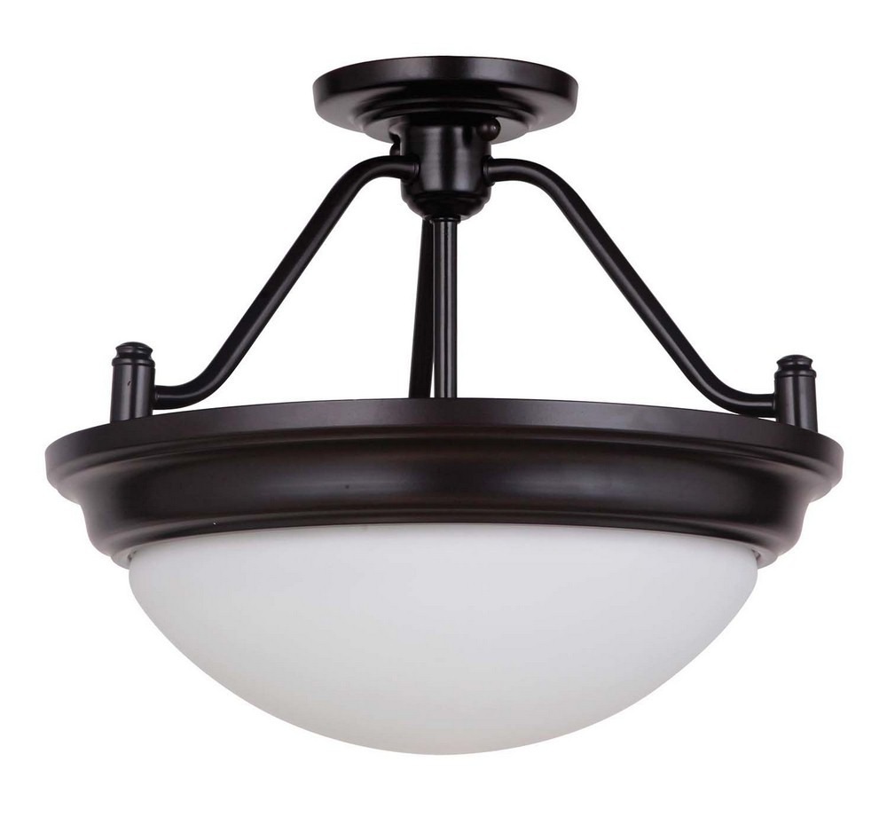 Ceiling fixtures semi flush mount