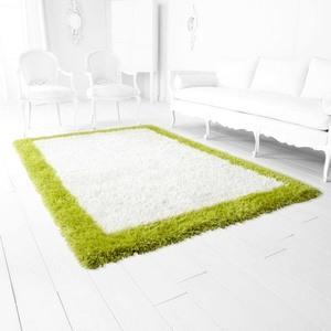 Cyan lighting-05791-Kendal - 5 Inch Rug  White/Lime Green Finish