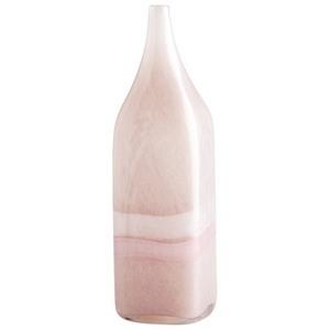 Cyan lighting-05880-Tiffany - 4 Inch Large Decorative Vase  Pink/White Finish