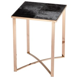 Cyan lighting-06005-Reality - 23.5 Inch Modern Table  Bronze/Black Finish