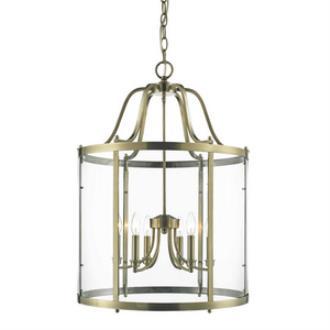 Golden Lighting 1157-6P AB Payton - Six Light Pendant