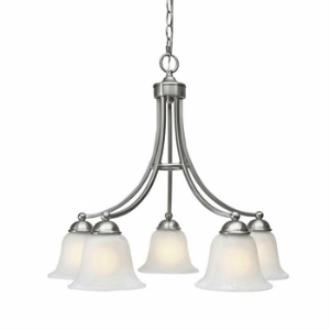 Golden Lighting 1260-D5 Candace - Five Light Nook Chandelier