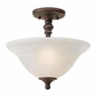 Golden Lighting 1264-SF Grace - Two Light Convertible Semi-Flush Mount