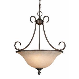 Golden Lighting 1393 RBZ Pendant Bowl