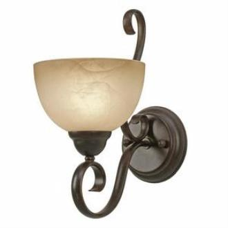 Golden Lighting 1567-1W PC Riverton - 1 Light Wall Sconce