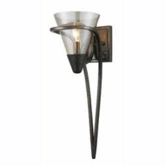 Golden Lighting 1648-1W BUS Olympia - One Light Wall Sconce