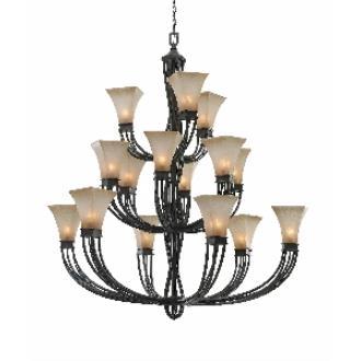 Golden Lighting 1850-15L RT Genesis - Fifteen Light Chandelier