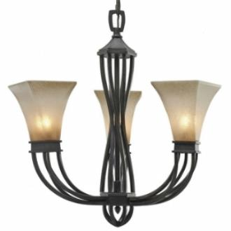 Golden Lighting 1850-GM3 RT Genesis - Mini Chandelier