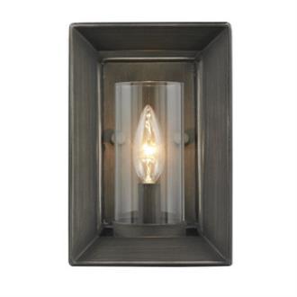 Golden Lighting 2073-1W GMT Smyth - One Light Wall Sconce