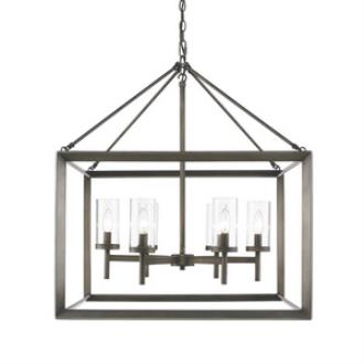 Golden Lighting 2073-6 GMT Smyth - Six Light Chandelier