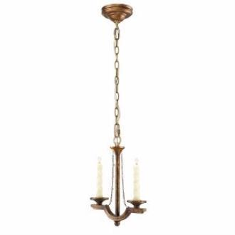 Golden Lighting 3071-M1L GG Athena - Two Light Mini Pendant