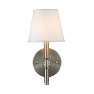 Golden Lighting 3500-1W PW-CWH Waverly - One Light Wall Sconce