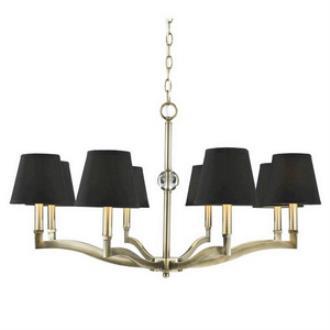 Golden Lighting 3500-8 Waverly - Eight Light Chandelier