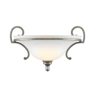 Golden Lighting 3711-WSC PS Rockefeller - One Light Wall Sconce