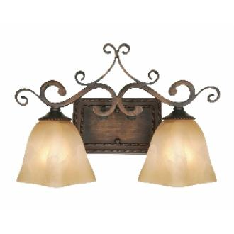 Golden Lighting 3890-VL2 GB 2 Light Vanity