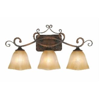 Golden Lighting 3890-VL3 GB 3 Light Vanity