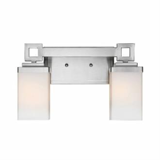 Golden Lighting 4444-BA2 PW Nelio - Two Light Bath Bar