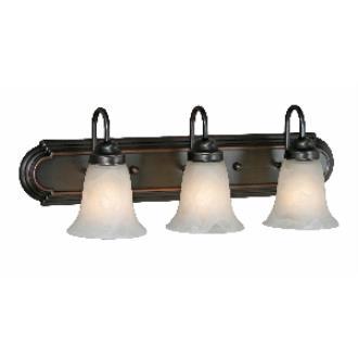 Golden Lighting 5221-3 ORB 3 Light Vanity