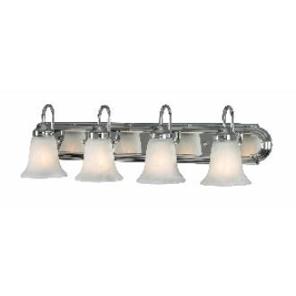 Golden Lighting 5221-4 CH 4 Light Vanity