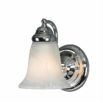 Golden Lighting 5222-1 CH 1 Light Wall Sconce