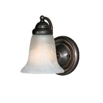 Golden Lighting 5222-1 ORB 1 Light Wall Sconce