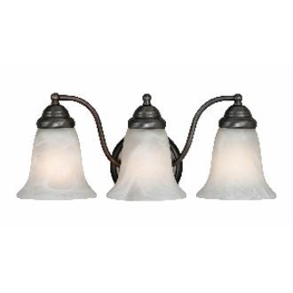 Golden Lighting 5222-3 ORB 3 Light Vanity