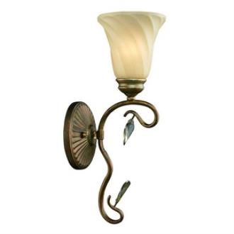 Golden Lighting 5400-1W RG Beau Jardin - One Light Wall Sconce