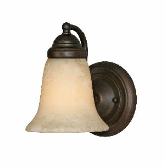 Golden Lighting 5661 RBZ 1 Light Wall Sconce