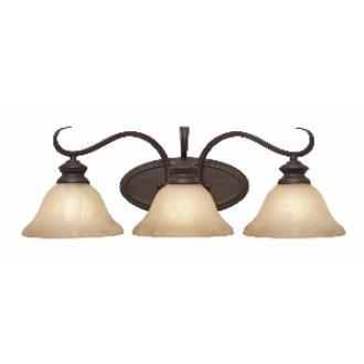 Golden Lighting 6005-BA3 RBZ 3 Light Vanity